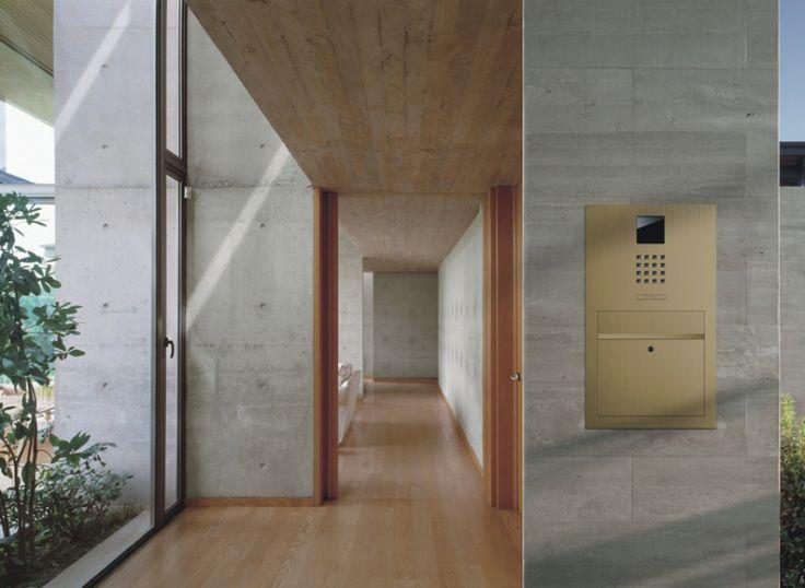 Siedle Intercom (Steel Gold design)