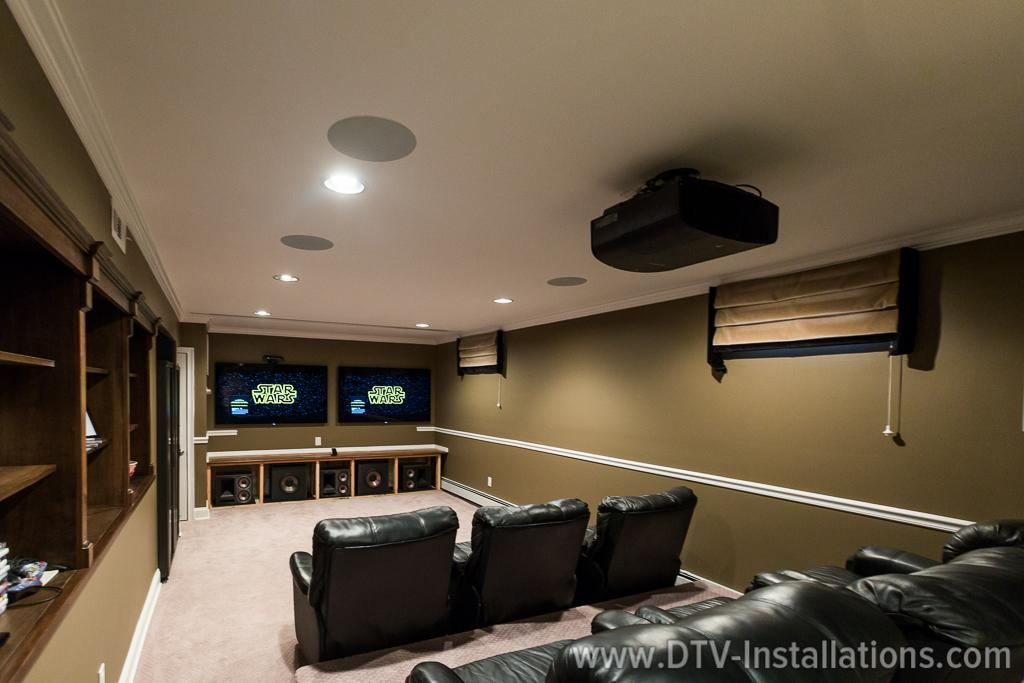 home theater speakers without the grill