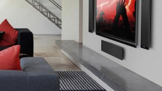 5.1 Home Theater System with Flat On-Wall KEF T205 Speakers