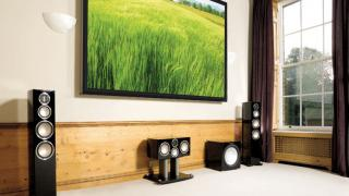 High-End 5.1 home theater with Monitor Audio Gold speakers