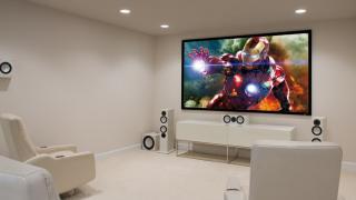 Top Hi-Fi home theater with floorstanding speakers