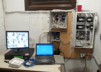 SSS SIEDLE high end video intercom installed