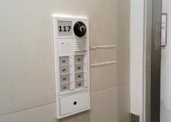 Installed Video Intercom Unit Lower East Side, NY