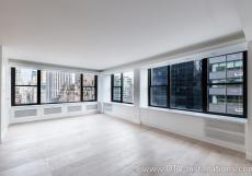 Motorized Lutron Shades Installation   Luxury Condo, NYC