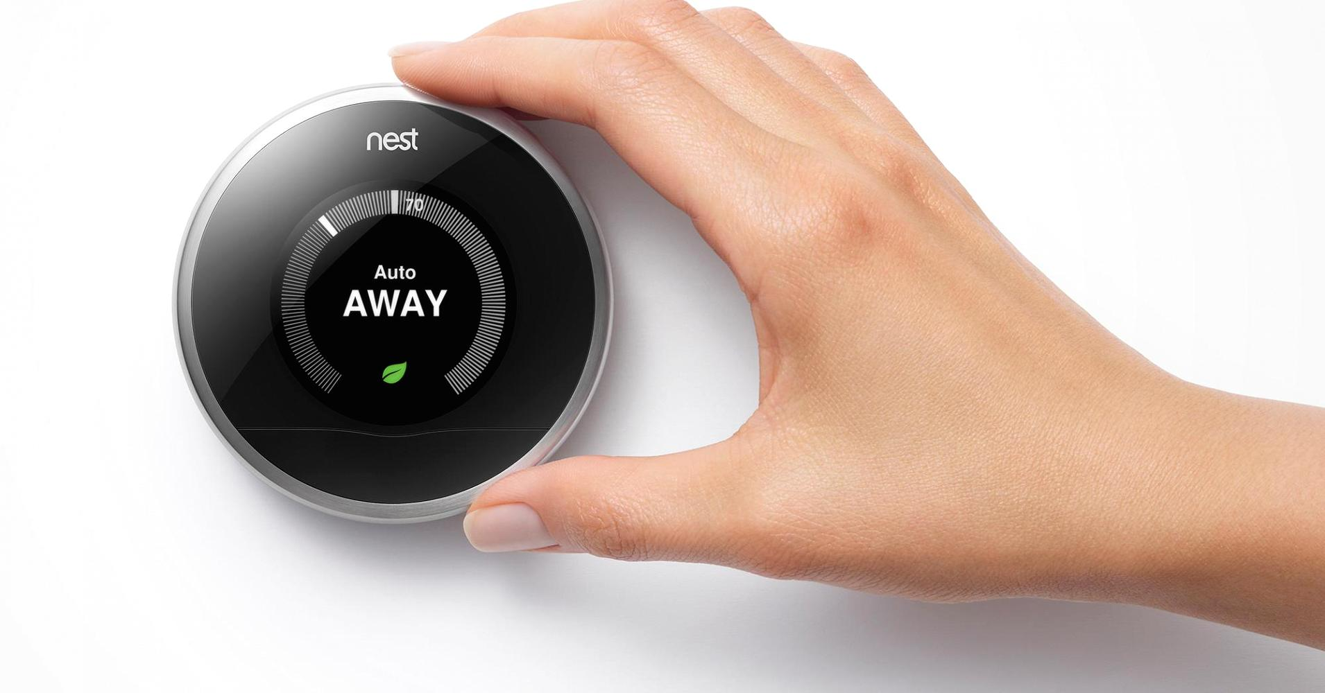setting house temperature with Nest
