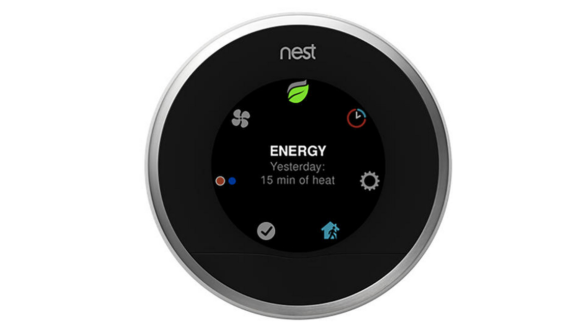 Third-Generation Nest - automated climate control