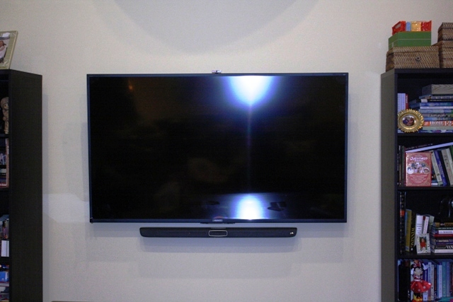 TV Mounted in the bedroom. Great Neck, NY (p1)11.JPG