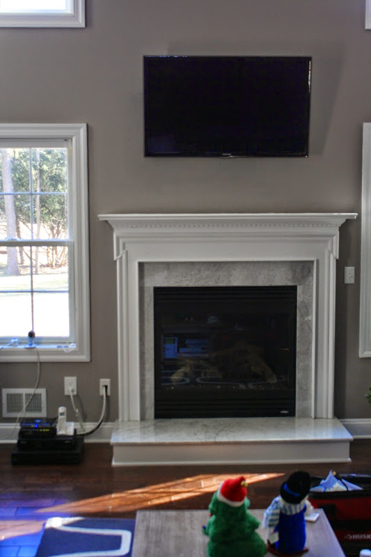 TV mounted over a fireplace in Edison, NJ0.JPG