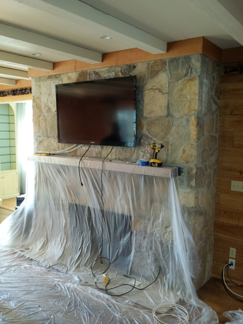 TV Mounting with Speakers | Scarsdale, NY