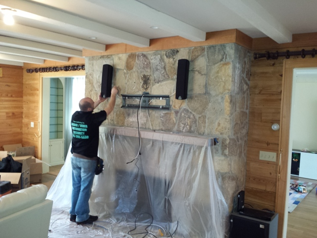 TV Mounting with Speakers. Scarsdale, NY (Westchester)12.jpg
