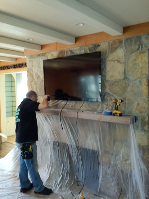 TV Mounting with Speakers. Scarsdale, NY (Westchester)14.jpg
