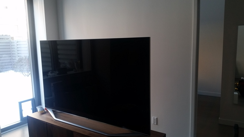 TV Wall Mounting in Manhattan, NY before.jpg